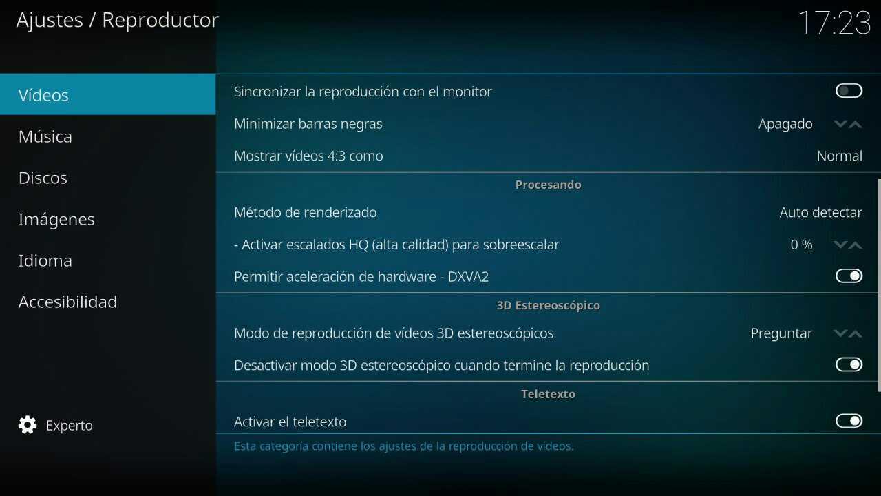 aceleración windows