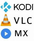 kodi VLC MX