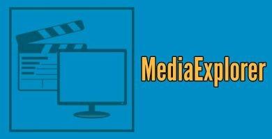 MediaExplorer kodi addon