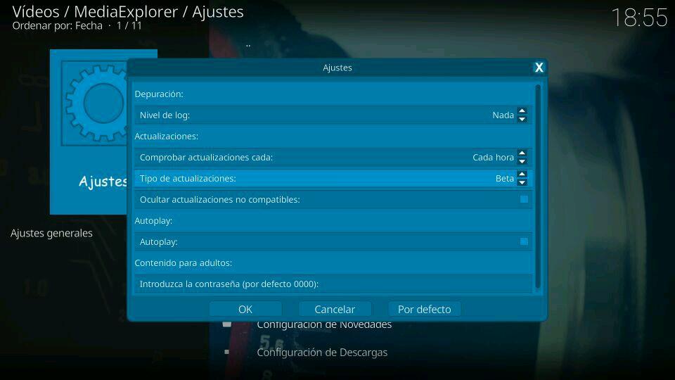 MediaExplorer beta version