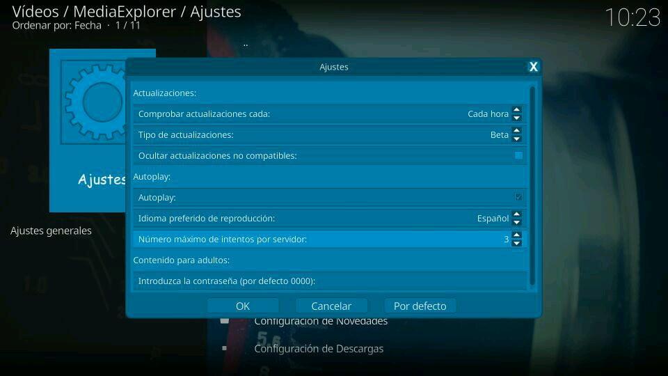 autoplay MediaExplorer