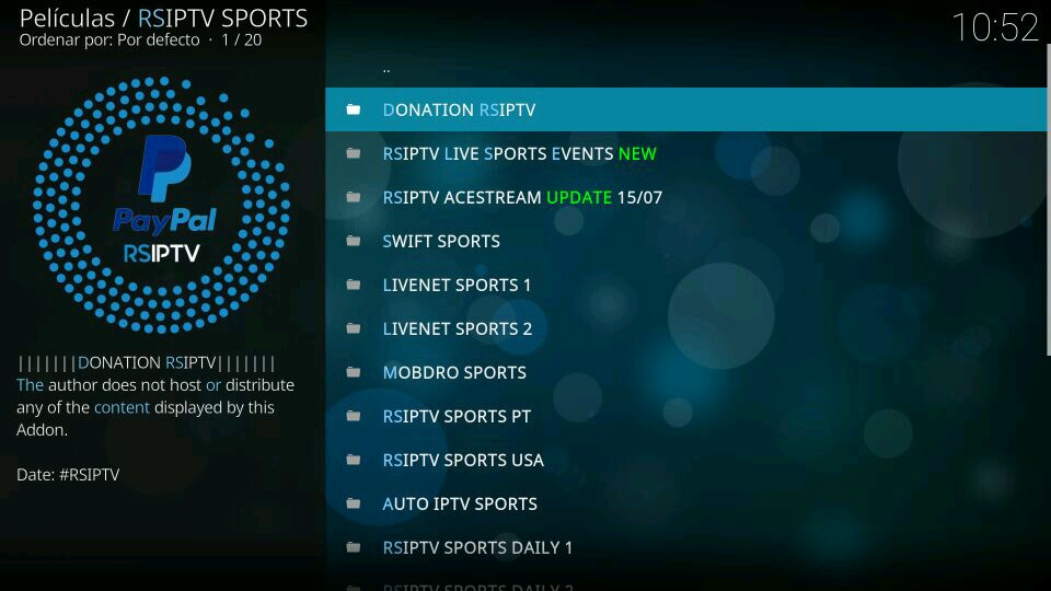 sports addon rsiptv