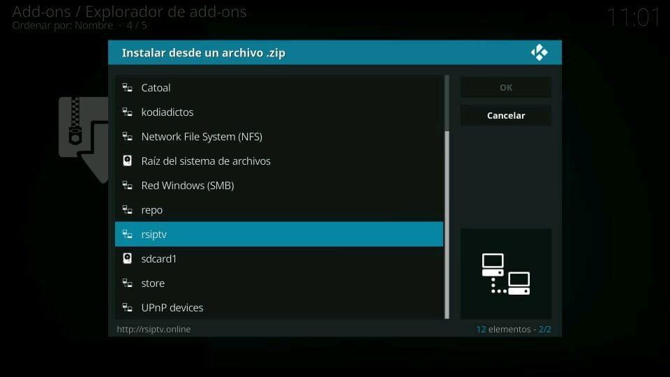 rsiptv instalar