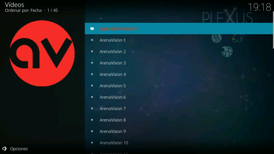 plexus streams agenda arenavision