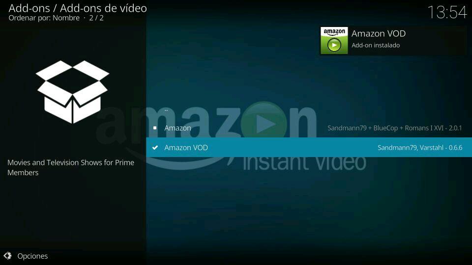 instalar amazon prime video