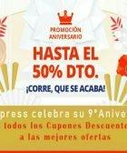 Noveno Aniversario Aliexpress