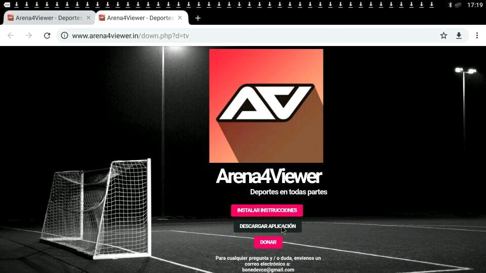 apk arena4viewer descargar