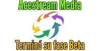 Acestream media Actualización