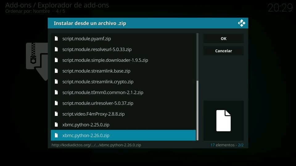 fuente script python 2.26.0