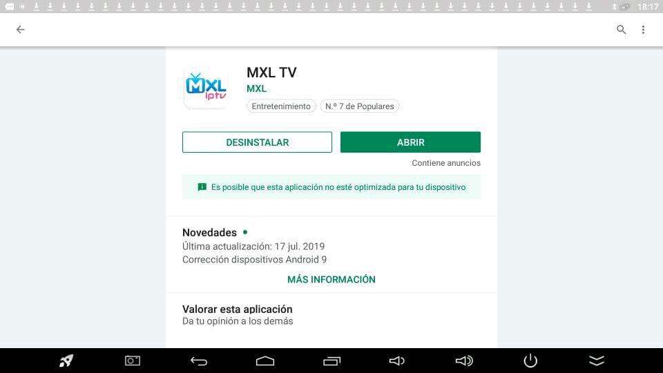 MXL TV Descargar última versión