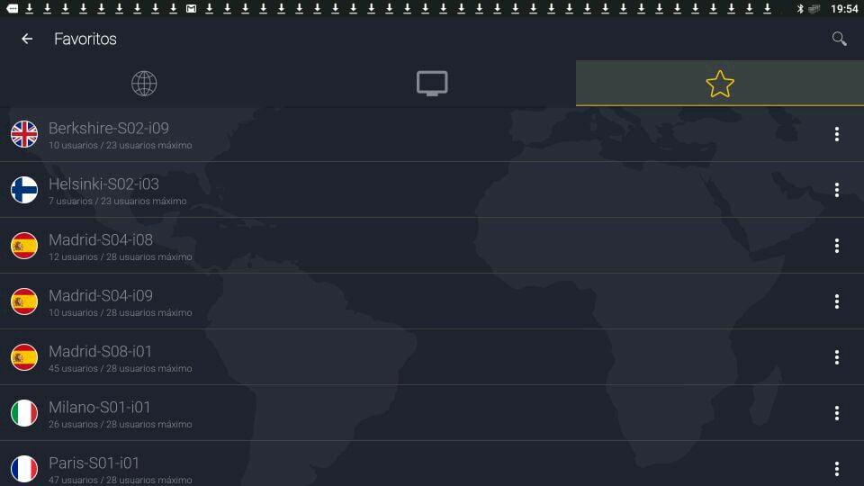 CyberGhost servidores favoritos los mejores servidores de CyberGhost VPN