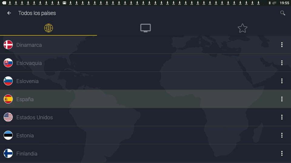 CyberGhost Países ubicaciones servidores