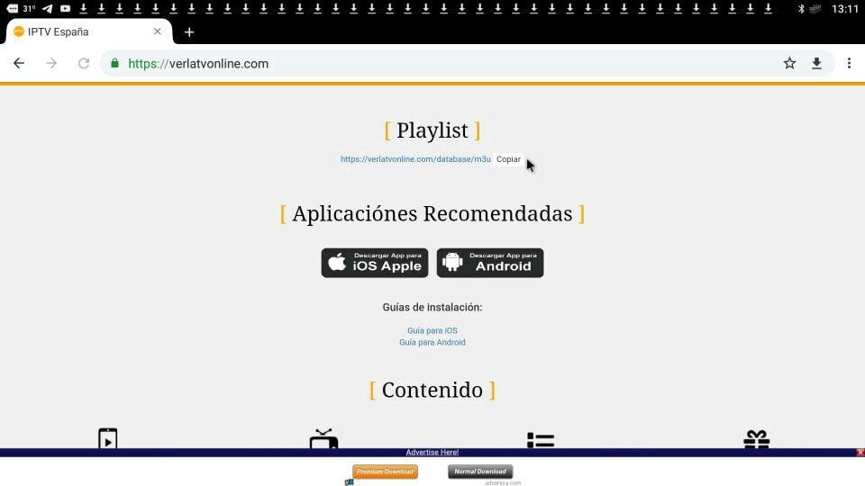 página web tv españa new play vertvonline