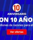 10 Aniversario Aliexpress