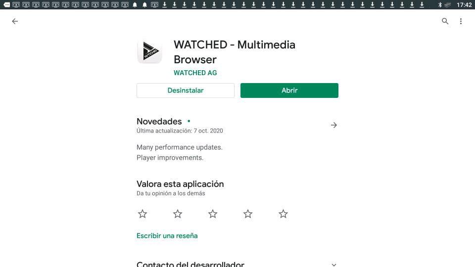 Descargar Watched multimedia player google play